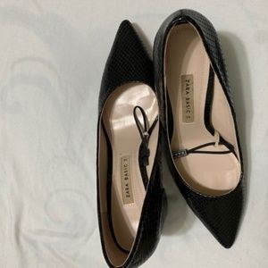 Zara Shoes - Zara Classic black Block heels (NWOT)